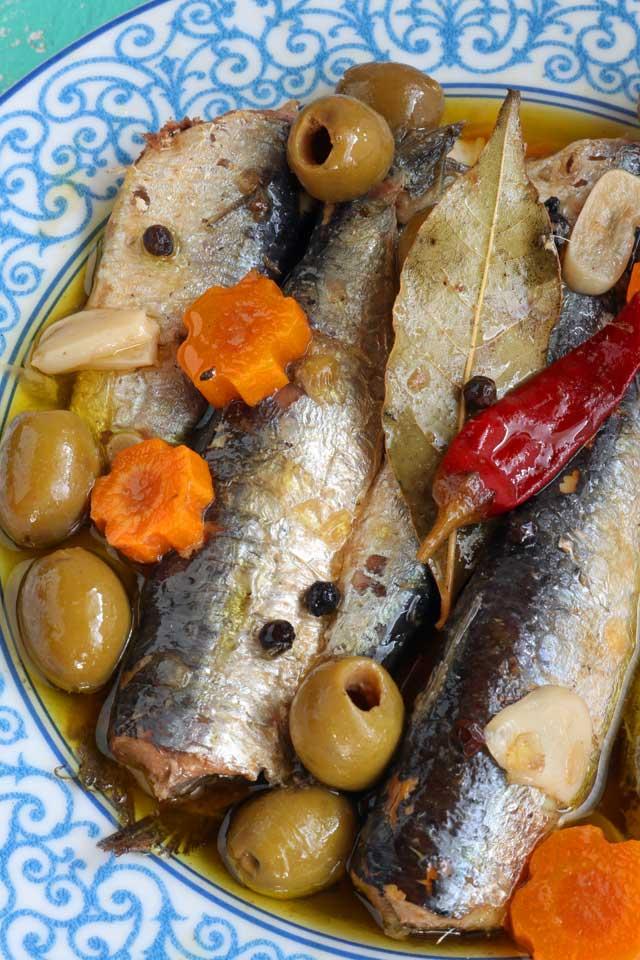 Homemade Spanish Sardines in Olive Oil