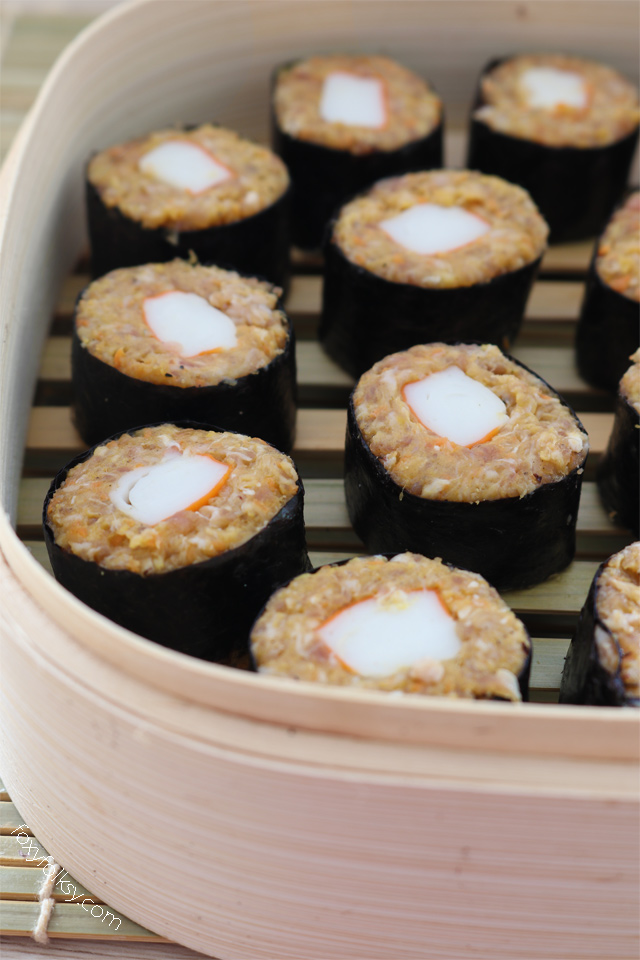 Try these Japanese Siomai now! Sushi and dumplings combined in one! | www.foxyfolksy.com