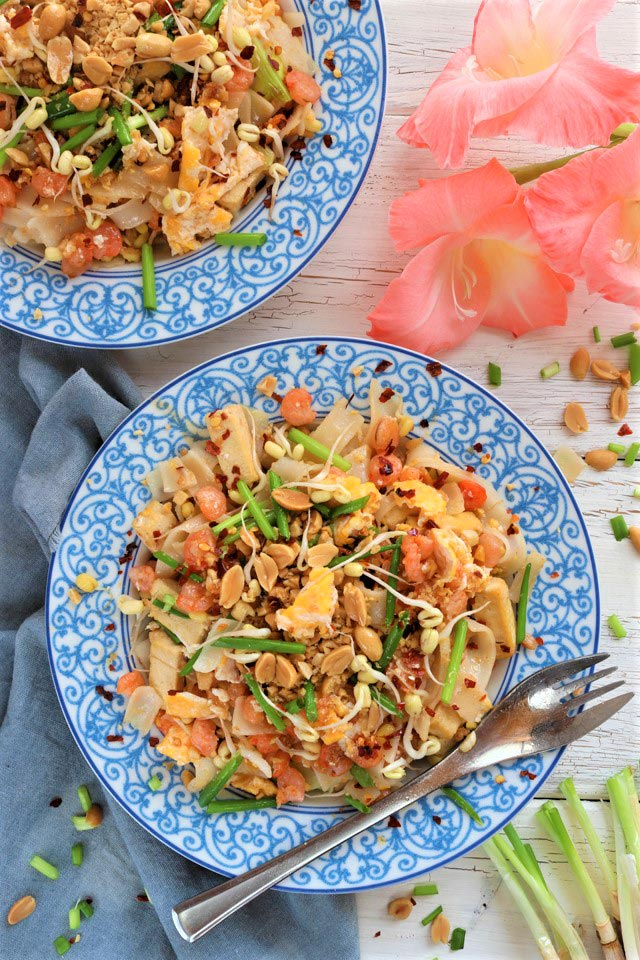 Easy Shrimp Pad Thai Recipe