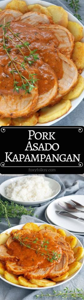 Try this special Pork Asado Kapampangan recipe from my hometown for a traditionally delicious Filipino dish.