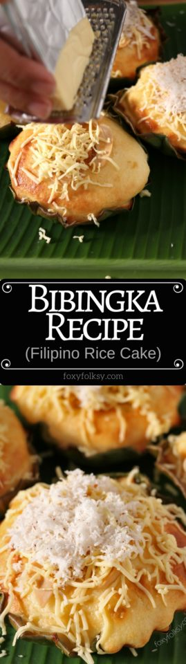 Enjoy this easy and simple Bibingka recipe, a classic Filipino rice cake that will surely bring you the Filipino Christmas feels!   www.foxyfolksy.com