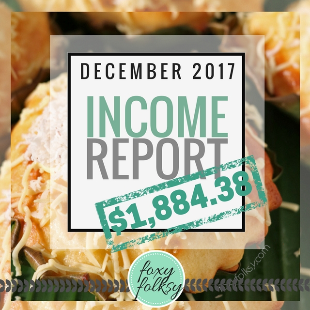 December Traffic And Income Report
