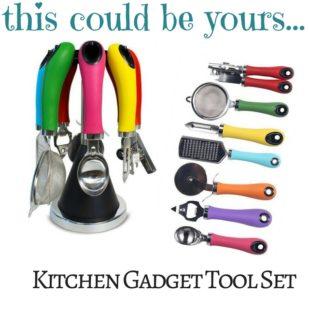 Kitchen Gadget Tool Set Giveaway