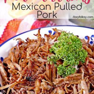 Pork Carnitas Mexican Pulled Pork