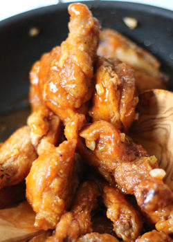 Crispy Fried Buffalo Wings