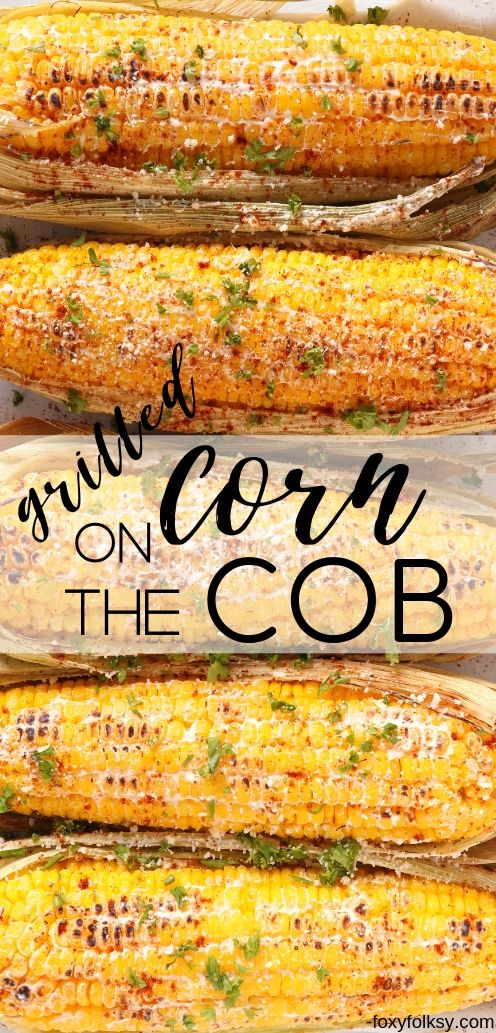 Enjoy grilled corn anytime you want with this spicy cheesy grilled corn on the cob recipe. Perfect for your barbecue parties this summer! | www.foxyfolksy.com #corn #recipes #grilled #snacks #foxyfolksy