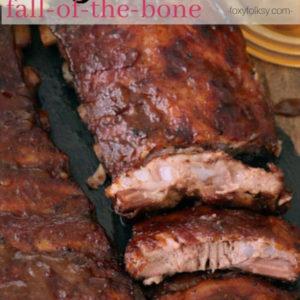 Fall-off-the-bone Baby Back Ribs