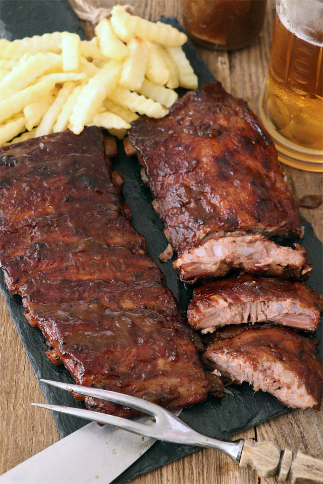 how to cook fall off the bone ribs in oven