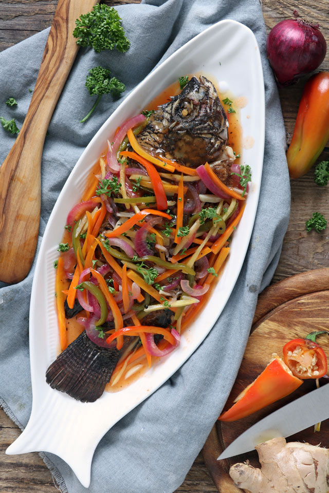escabeche or sweet and sour fish