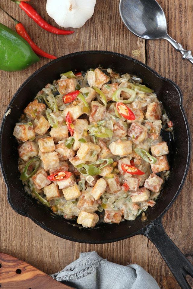 Sizzling Tofu ala Max's | Foxy Folksy