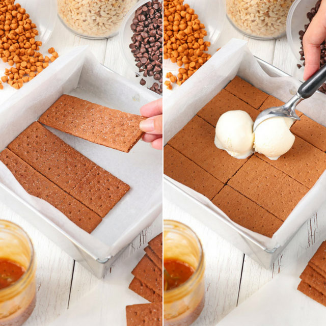 How to make Graham Ice Cream Sandwich