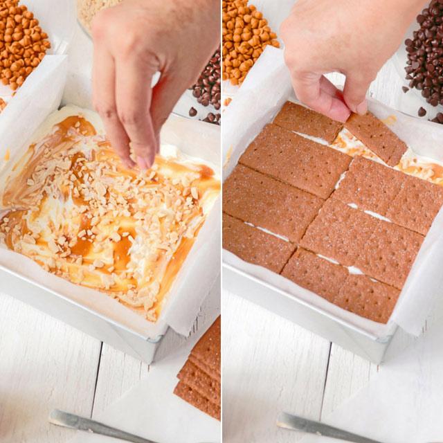 How to make Graham Ice Cream Sandwich