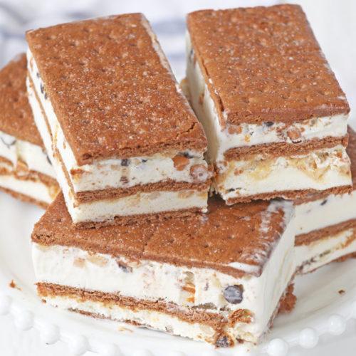 Graham Ice Cream Sandwich