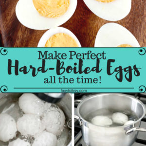 Learn how to make perfect hard-boiled eggs all the time with additional tips on how to have hard boiled eggs that peel easily .