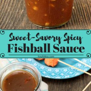 Fishball sauce