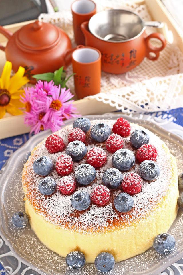 Homemade Japanese Cheesecake | Foxy Folksy