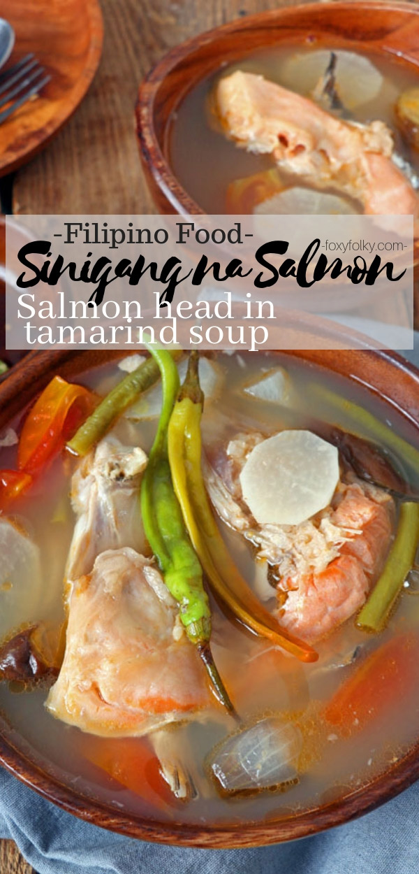 Stay warm and healthy while you enjoy this nutritious Sinigang na Salmon, a Filipino sour soup with a good mix of fish and vegetables.