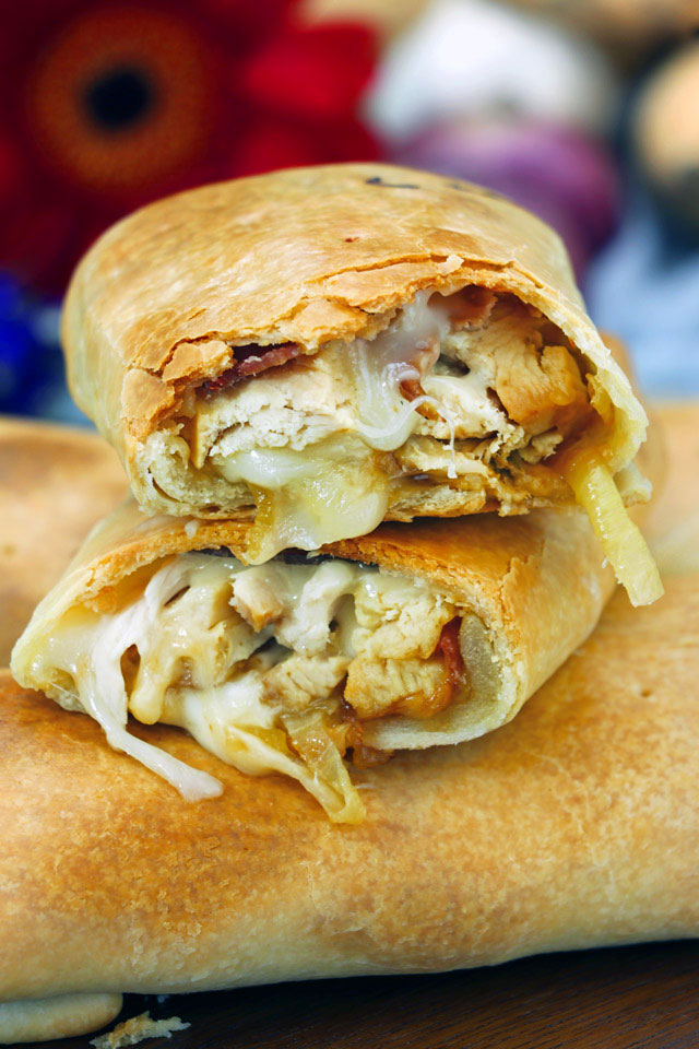 Leftover Turkey Baked Roll