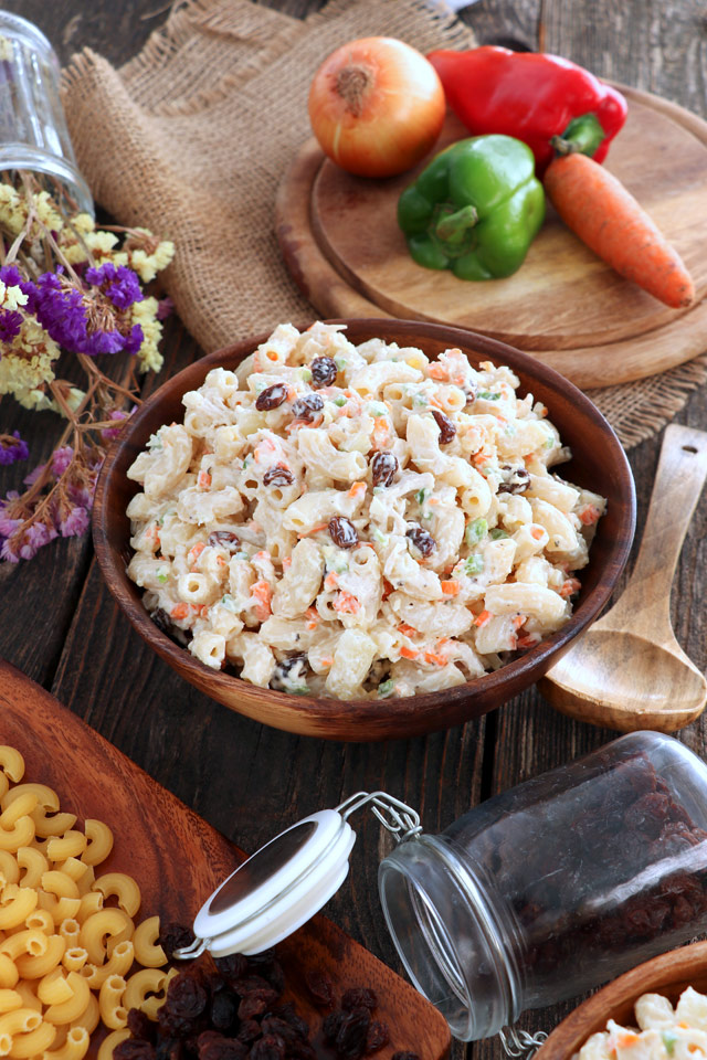 Easy Chicken Macaroni Salad Recipe