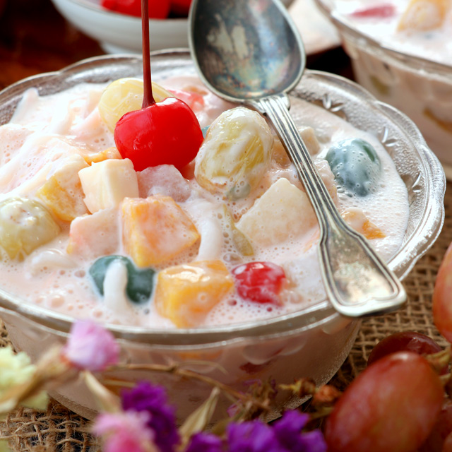 Filipino Fruit Salad   Foxy Folksy