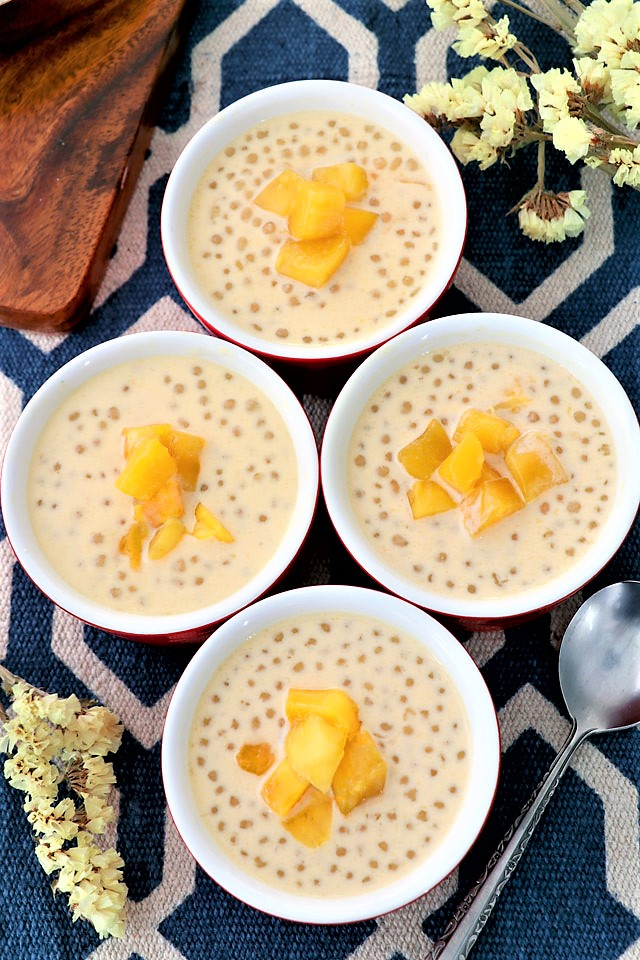 Easy Mango Sago Recipe