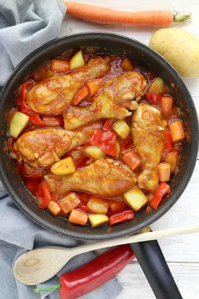 The Best Chicken Afritada Recipe