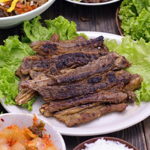 Beef Galbi Korean Bbq Short Ribs Foxy Folksy