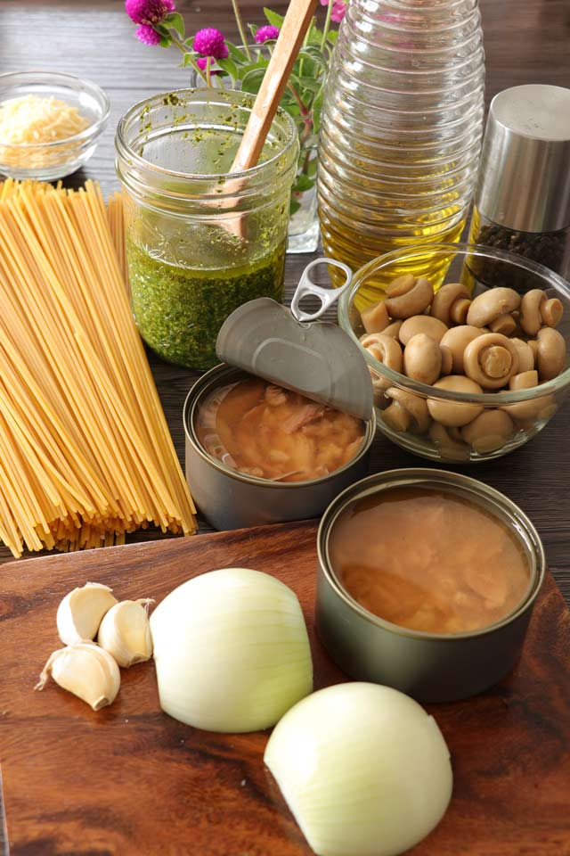 How to make Pesto Pasta with Tuna