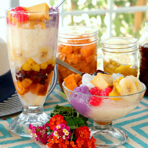 Halo halo made from scratch