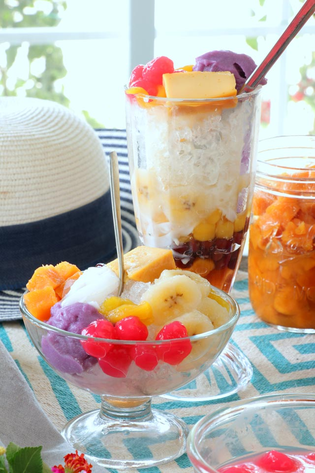 How to make Halo Halo