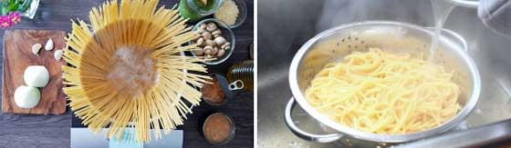 Pesto Pasta Recipe Step 1