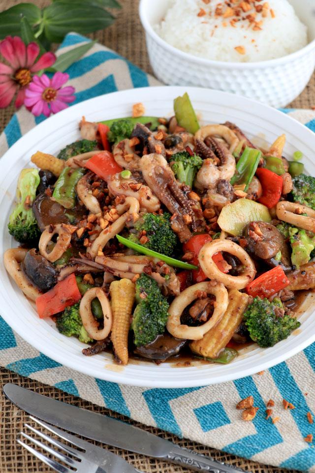 Seafood Salpicao Recipe