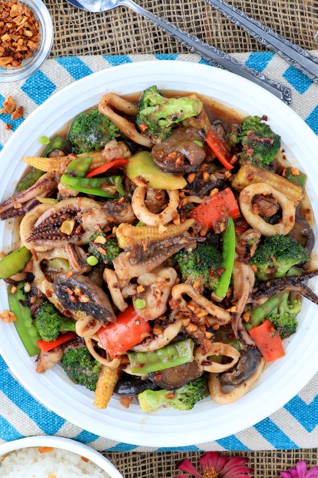 Seafood Salpicao