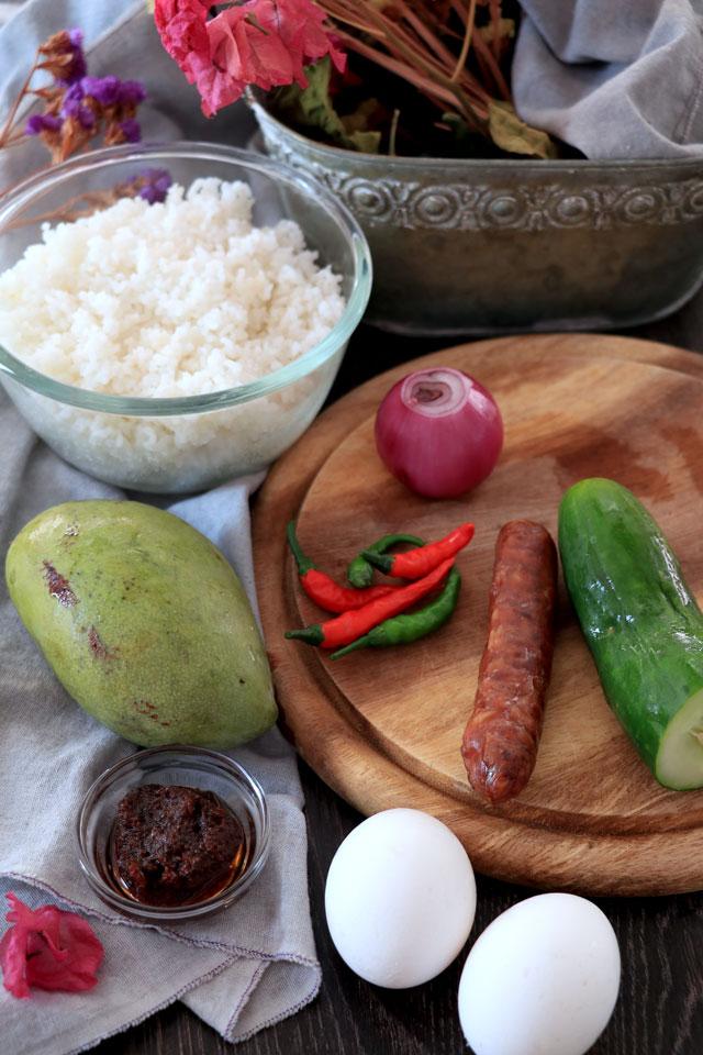 Thai Rice Ingredients