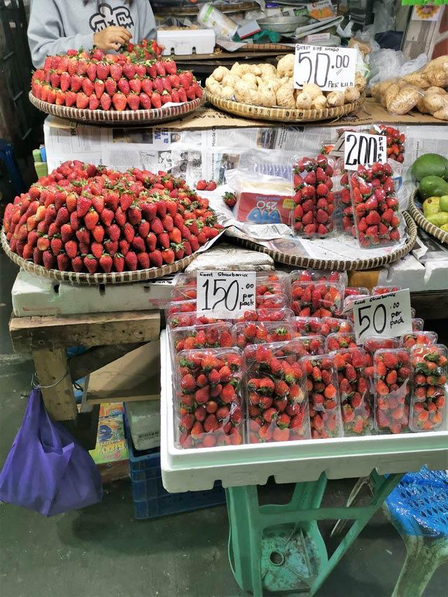 Baguio Market Strawberries