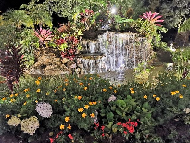 The Manor Garden Waterfall