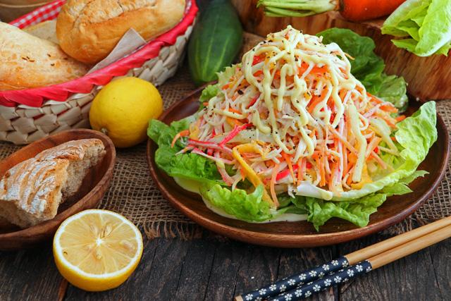 Kani Salad Recipe