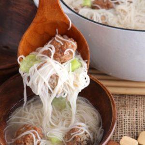 Almondigas Soup