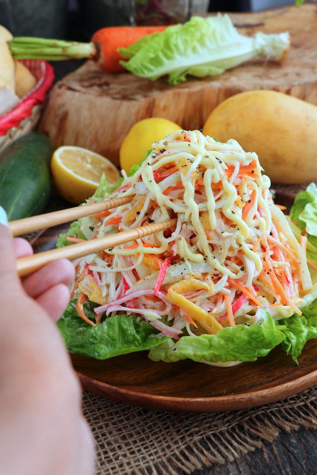 Easy Kani Salad Recipe