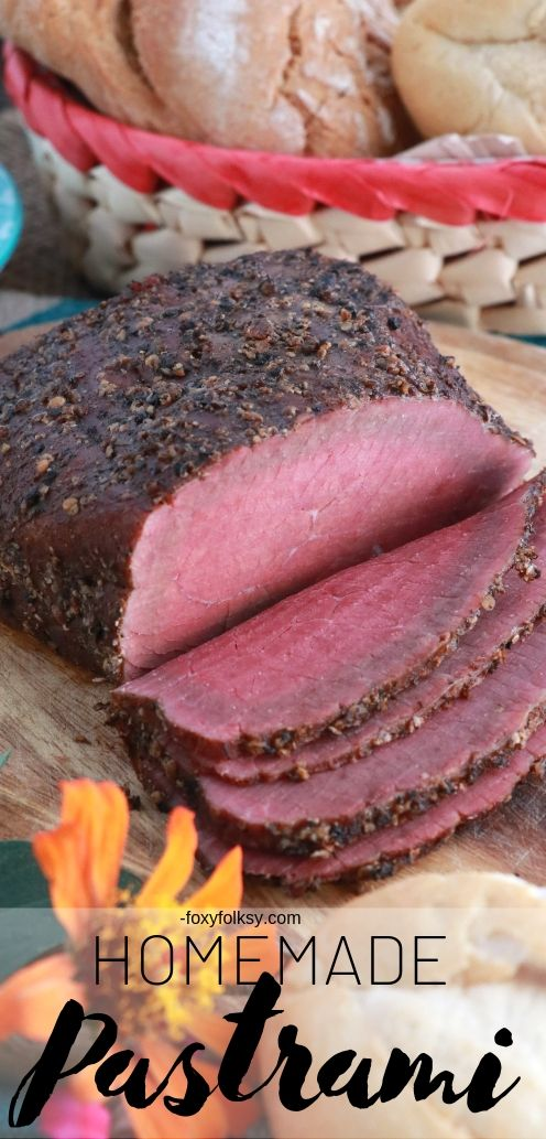 How to make homemade Pastrami without a smoker? Yes, it is possible but it requires some days of planning because we have to make it from scratch. No store-bought corned beef for us. | www.foxyfolksy.com #beefrecipe #beef #homemade #sandwich #reubensandwich