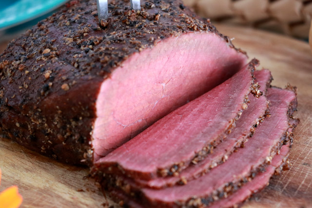 Homemade Pastrami from scratch