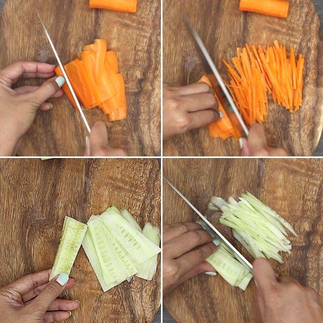 How to make Kani Salad