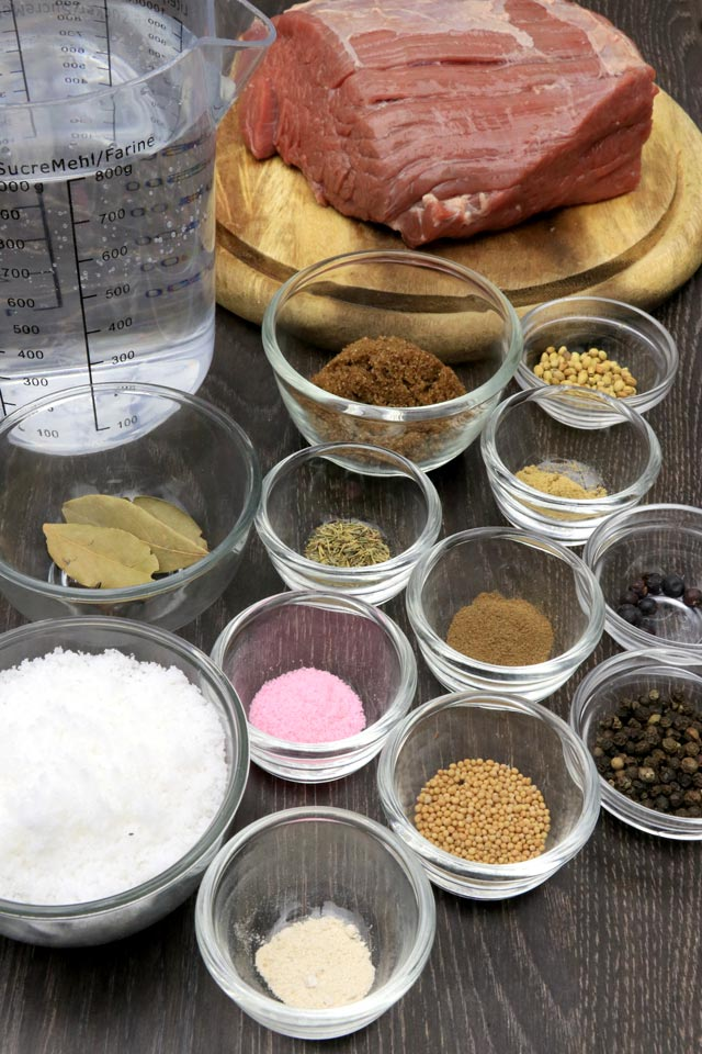 Spices for making Pastrami