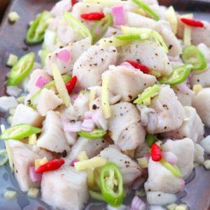 Kinilaw Filipino Version Ceviche