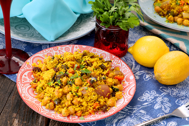 Easy recipe for Moroccan couscous.