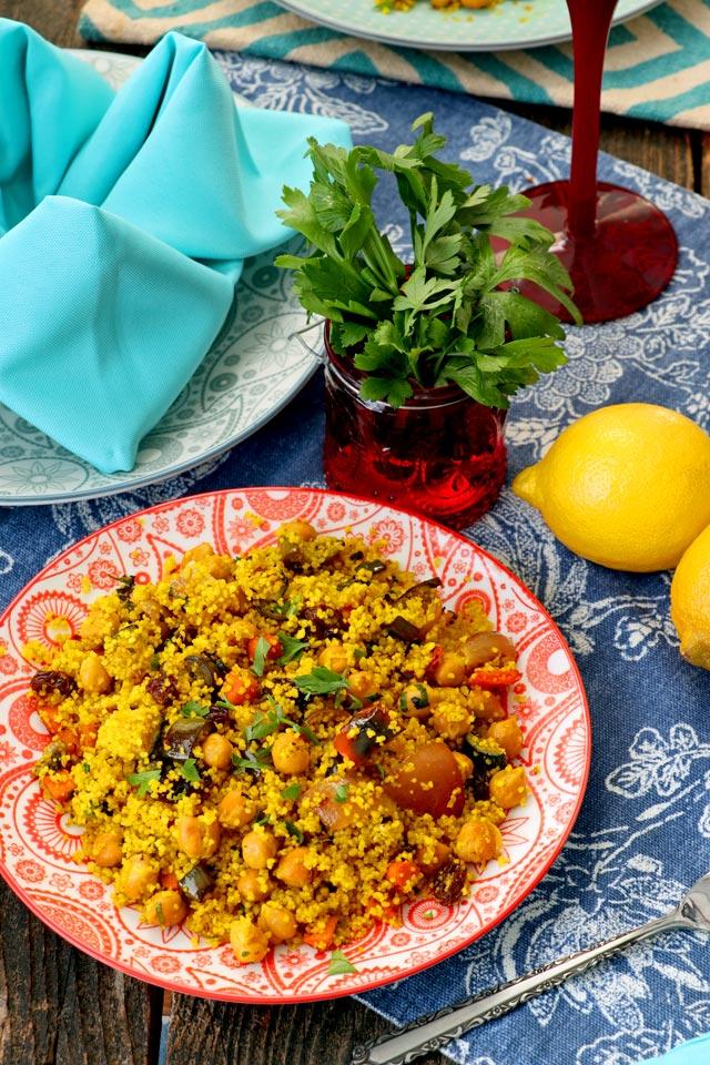 Seven Vegetables Couscous