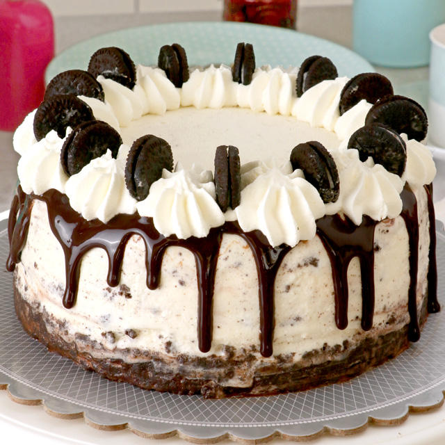 Super Easy Oreo Ice Cream Cake Foxy Folksy