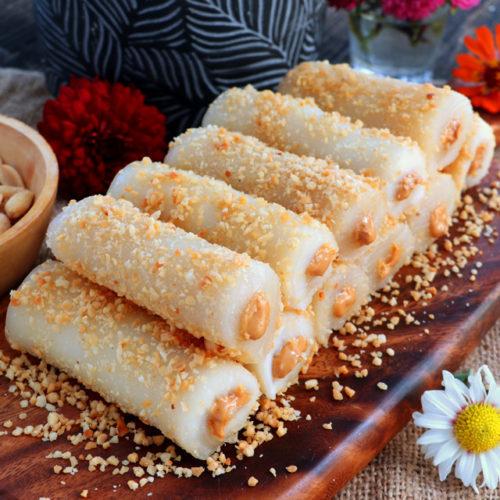 Peanut Tikot Roll Recipe