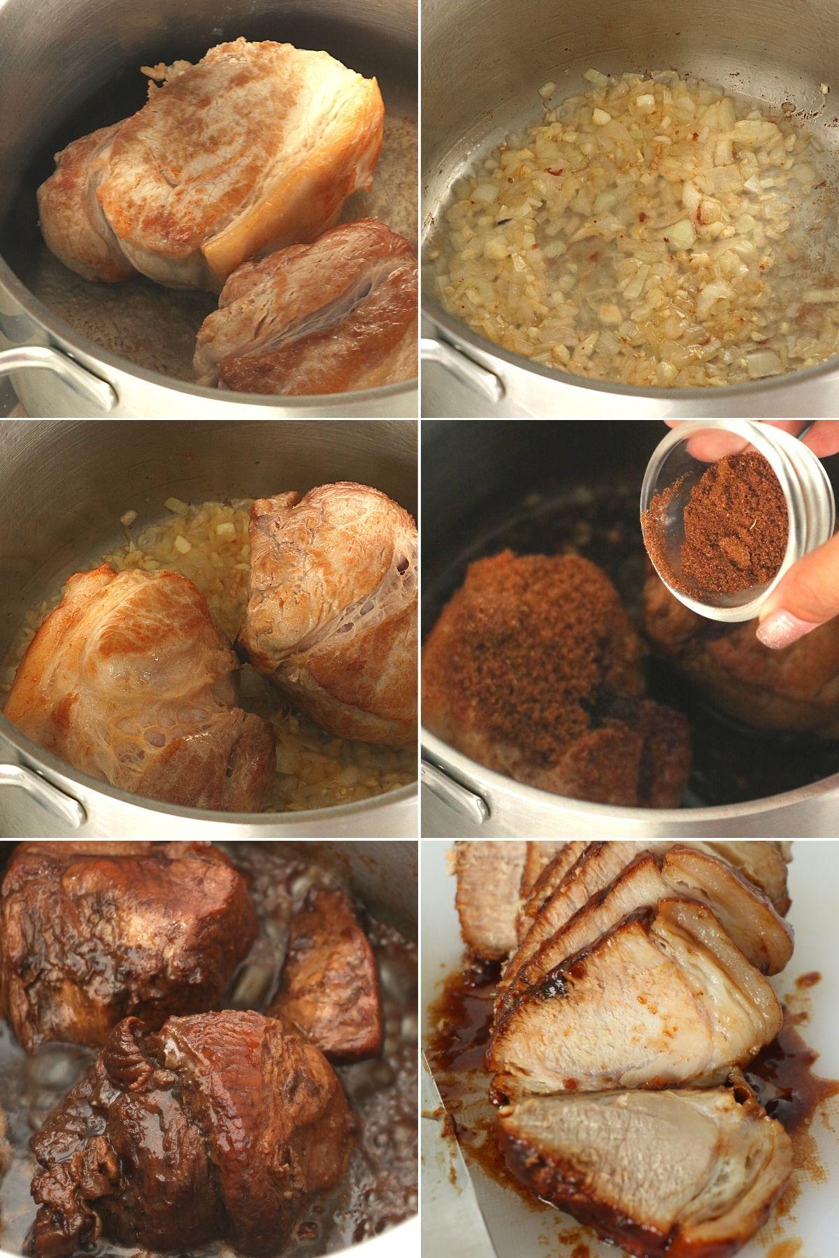 how to cook pork asado