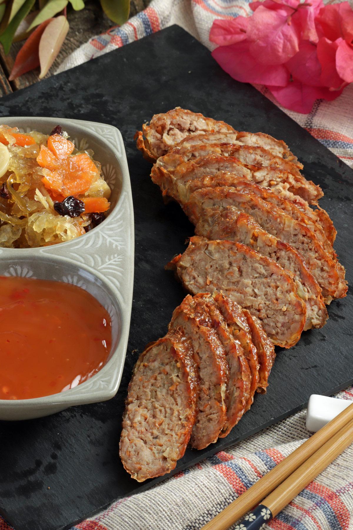 Homemake Chinese Kikiam or Ngoh Hiang
